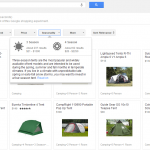 New Paid Google Shopping Design