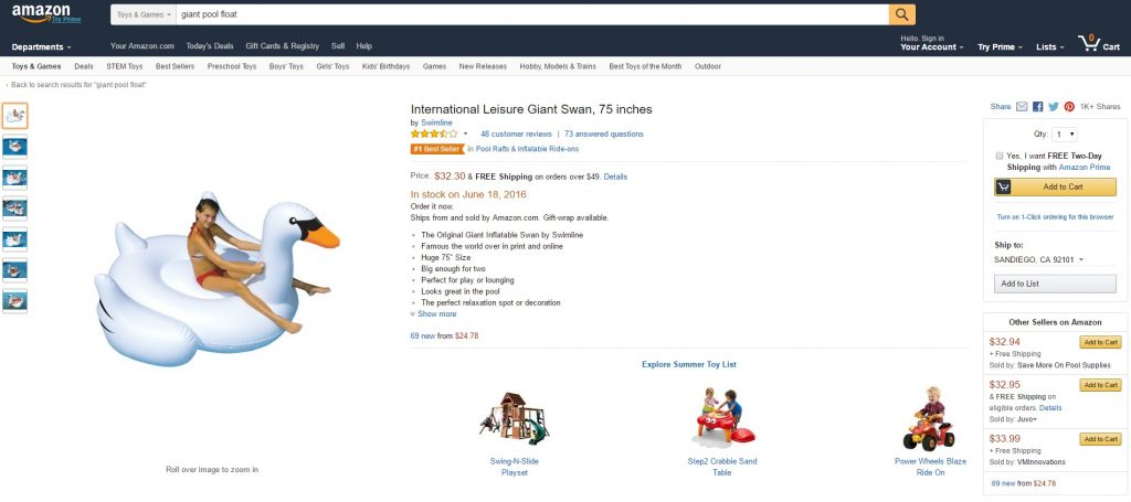 Optimize Amazon Listings on desktop