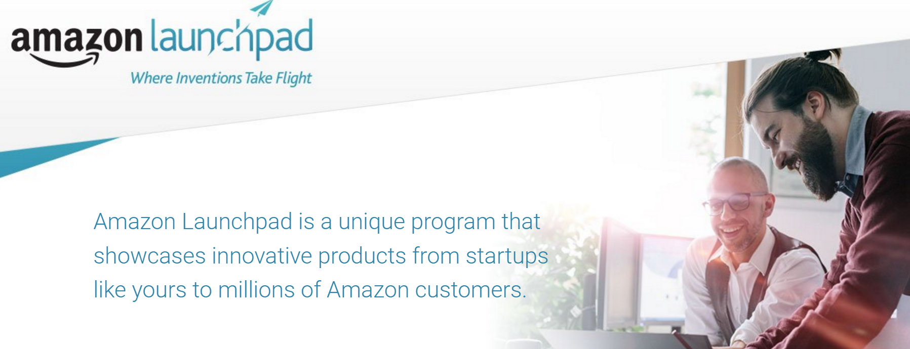 amazon launchpad signup page