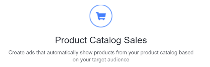 product catalog sales objective for repeat customers