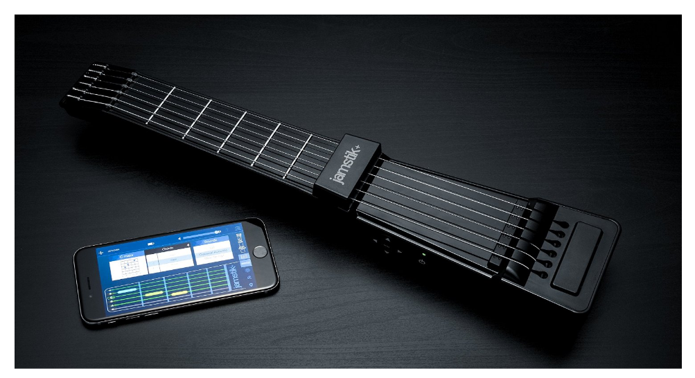 zivix jamstik guitar and phone