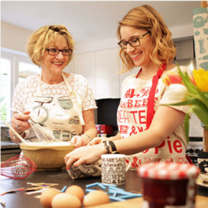 multichannel selling strategist victoria eggs and her mother