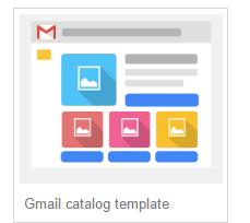 gmail ads catalog template