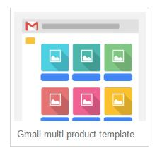 gmail ads multi product promotion