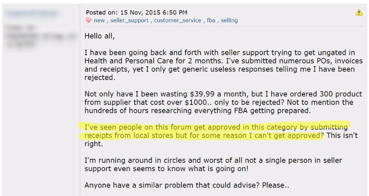 Amazon Health Personal Care Why Is It So Hard To Get Approved
