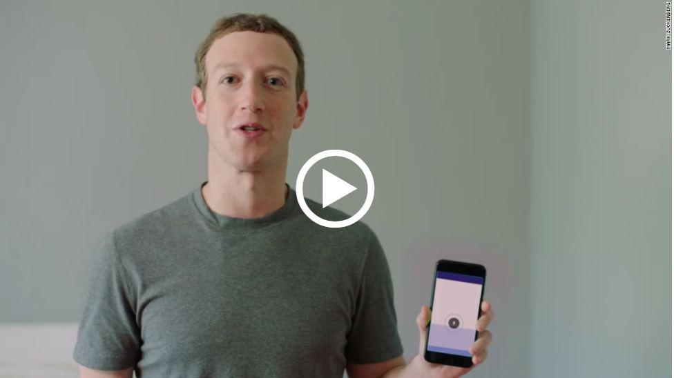 mark zuckerberg voice-first device