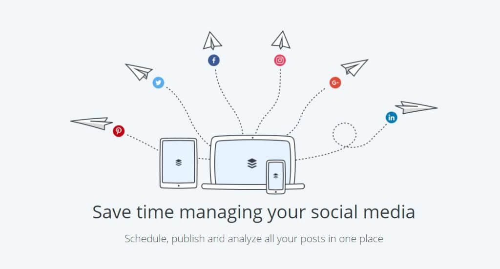 buffer social media management platform