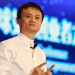 alibaba ceo jack ma speaking at conference