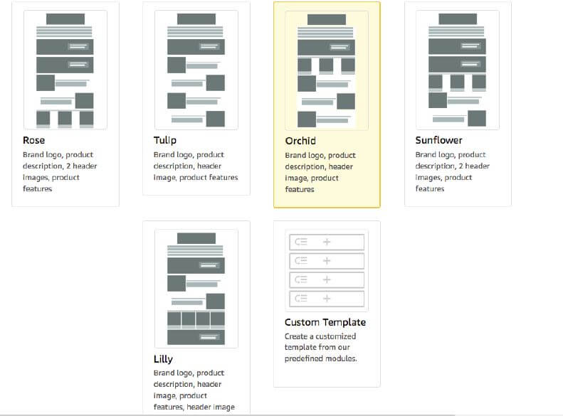 First Peek At AmazonS New Enhanced Brand Content Modular Templates