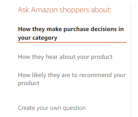 Amazon customer insights