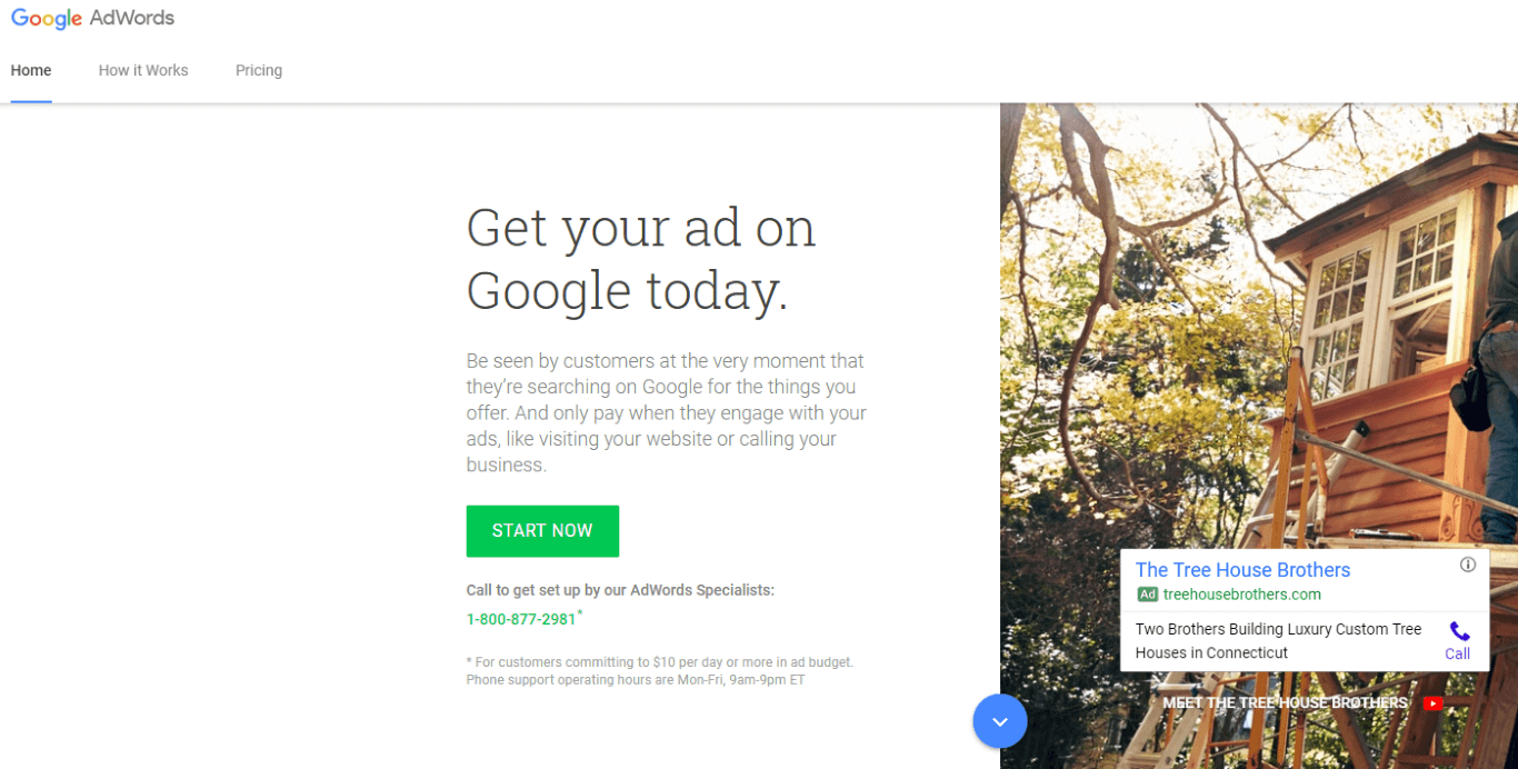 adwords signup