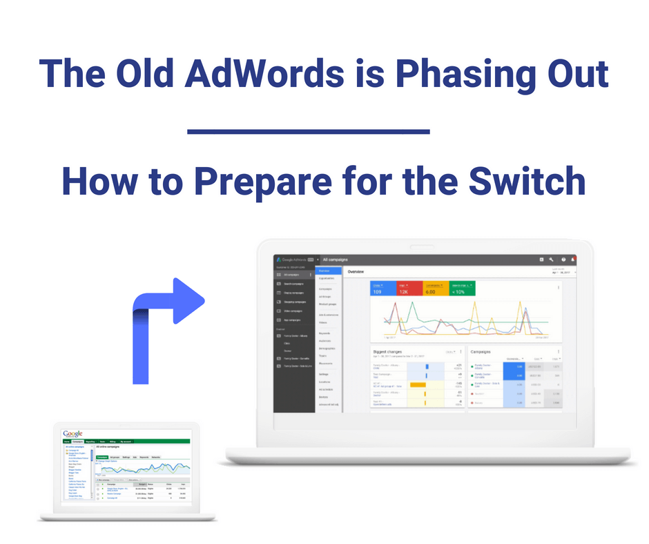 old adwords is phasing out
